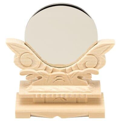 神鏡(台付) 2寸 鏡径6cm
