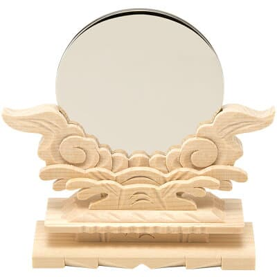 神鏡(台付) 2.5寸 鏡径7.5cm