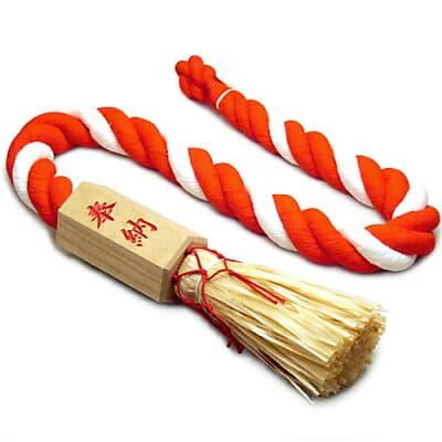 鈴紐(鈴緒) 桐枠付き 3尺 長さ90cm