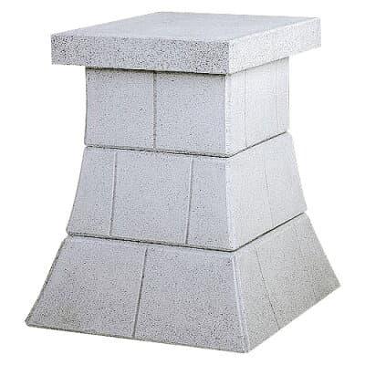 外宮用台座 人工石台座3段