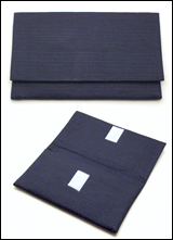 数珠袋(念珠入れ) つむぎ 紺色