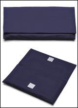 数珠袋(念珠入れ) つむぎ 大型 紺色