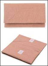 数珠袋(念珠入れ) つむぎ ピンク色