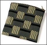 数珠袋(念珠入れ) ポーチ型 帯織