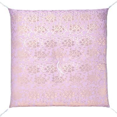 夏用座布団 紗 虹 薄紫