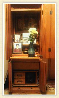 祖母と仏壇と私