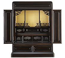 黒檀仏壇 (No.3) 20号 b02-13-03