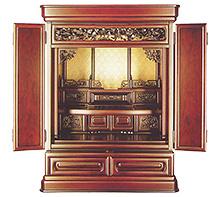 お買い得 紫檀仏壇 上置き b10-03-01