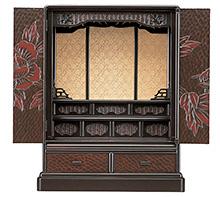 鎌倉彫風仏壇 b10-19-01