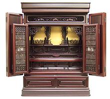 紫檀仏壇 (No.40) b11-03