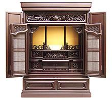 紫檀仏壇 (No.12) b11-08