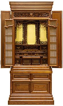 本桑仏壇 (No.34) 53×22号 b12-07-01