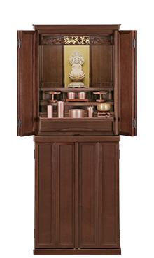 江戸桜 床置き ウォールナット b15-119