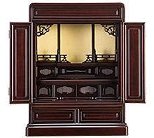 紫檀仏壇 (No.3-1) 20号 b16-133-03
