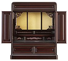 紫檀仏壇 (No.3-1) 16号・18号 b16-133