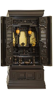 本黒檀仏壇 (No.36) 57×25号 b17-003