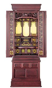 漣 紫檀系 46×15号 b17-124