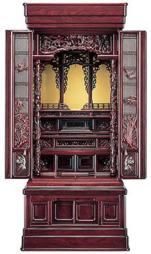 宝輪 紫檀系 57×22号 b17-166
