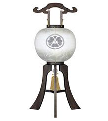 家紋入盆提灯11号1450-5