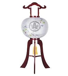 家紋入盆提灯12号1786-3