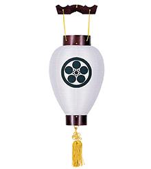 家紋入小型盆提灯3311-6