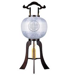 家紋入盆提灯11号1584-5