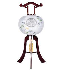 家紋入盆提灯13号1356-3