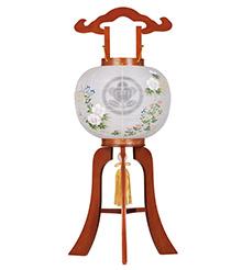 家紋入小型盆提灯10号1551-3