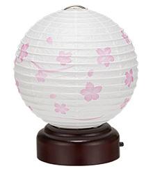 結花ゆいか丸型 そよ桜(一個)3919-T