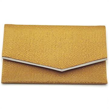 数珠袋(念珠入れ) 高級ちりめん 金茶色