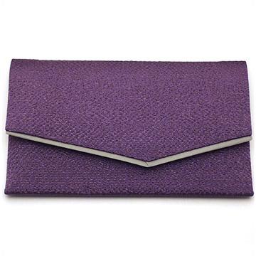 数珠袋(念珠入れ) 高級ちりめん 紫色