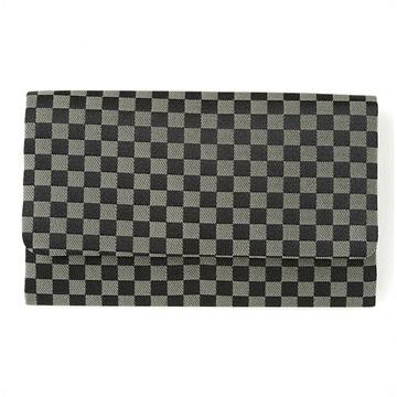 数珠袋(念珠入れ) 市松模様 黒色