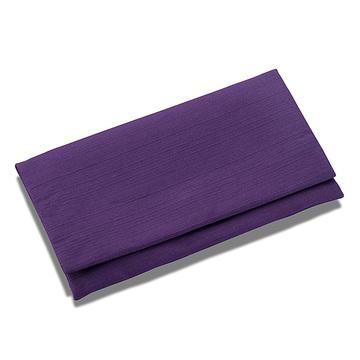 数珠袋(念珠入れ) つむぎ 大型 紫色
