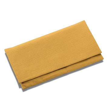 数珠袋(念珠入れ) つむぎ 大型 からし色