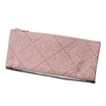 数珠袋(念珠入れ) 古渡どんす 鳳凰 ピンク ファスナー式