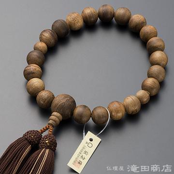 数珠 男性用 沈香(じんこう) 20玉