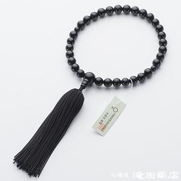 数珠 子供用 黒オニキス