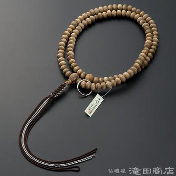 曹洞宗 本式数珠 男性用 沈香(じんこう) みかん玉 尺3