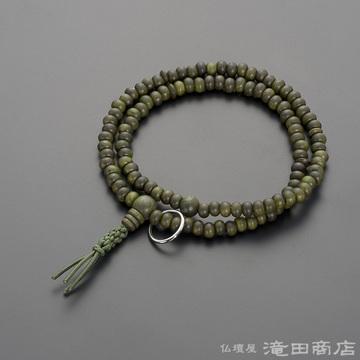 特選腕輪念珠 108珠 曹洞宗用 緑檀(生命樹)