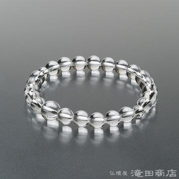 特選腕輪念珠 本水晶 8mm玉