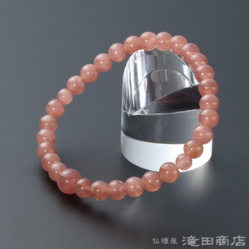特選腕輪念珠 インカローズ(ロードクロサイト) 6mm玉