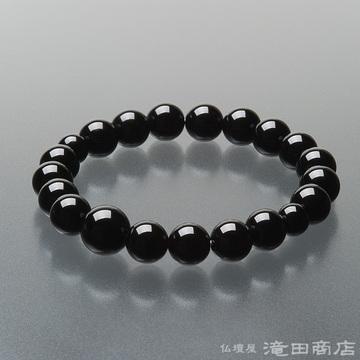 特選腕輪念珠 黒オニキス 10mm玉