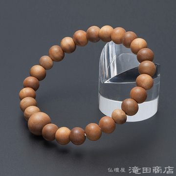 特選腕輪念珠 インド白檀 8mm玉(尺二玉)