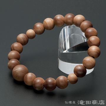 特選腕輪念珠 インド白檀 10mm玉(尺六玉)