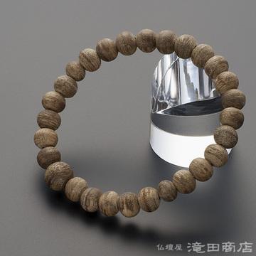 特選腕輪念珠 沈香(じんこう) 8mm玉(尺二玉)