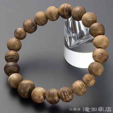 特選腕輪念珠 沈香(じんこう) 10mm玉(尺六玉)