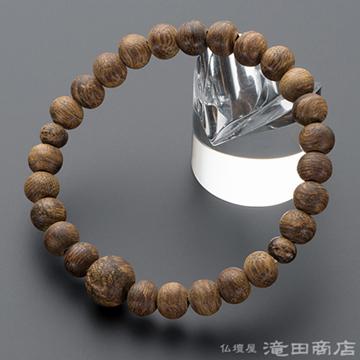 特選腕輪念珠 極上 沈香(じんこう) 8mm玉