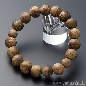 特選腕輪念珠 極上 沈香(じんこう) 14mm玉(四分玉)