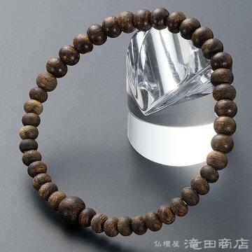 特選腕輪念珠 極上 伽羅(きゃら) 6.5mm玉