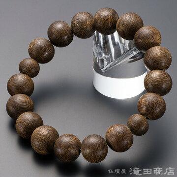 特選腕輪念珠 プレミアム 沈香(じんこう) 14.5mm玉